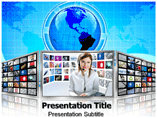 News Channel Templates For Powerpoint