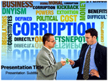 Corruption Quotes Templates For Powerpoint