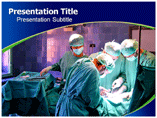 Health Operation Theatre  PowerPoint Template