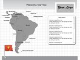 Windows South America Flash Maps