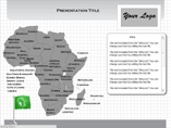 MAC Africa Flash Maps Templates For Powerpoint