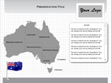 MAC Australia Flash Maps Templates For Powerpoint