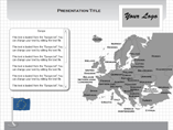 MAC Europe Flash Maps Templates For Powerpoint