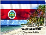 costa rica Templates For Powerpoint