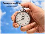 Time in Hand PowerPoint Slides