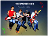 Music Band Templates For Powerpoint