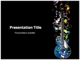 Electronic Guitar Templates For Powerpoint