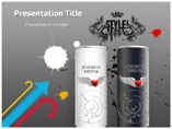 Energy Drink PowerPoint Backgrounds