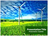 wind power farm animated Templates For Powerpoint