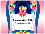 Clown Pictures Templates For Powerpoint
