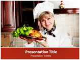 Female Chef Templates For Powerpoint