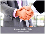 Handshakes Templates For Powerpoint