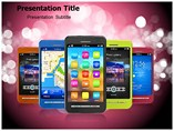 Smart Phones Templates For Powerpoint