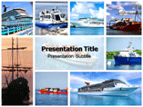 Shipping Overseas Templates For Powerpoint