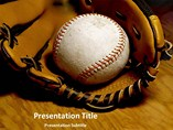 Baseball PowerPoint Template, Baseball PowerPoint Background Templates