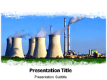 Industrial pollution Templates For Powerpoint