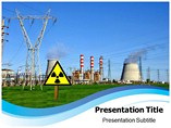Nuclear reactor Templates For Powerpoint