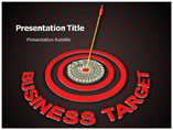 Business Target PowerPoint Graphics