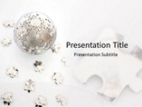 Globe Puzzle PowerPoint Designs