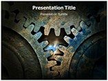 Mechanical background Templates For Powerpoint