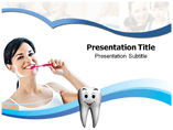 Tooth Brushing Technique Templates For Powerpoint