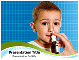 Nasal flu vaccine Templates For Powerpoint