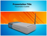 network devices powerpoint template