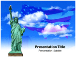 Statue of Liberty Templates For Powerpoint