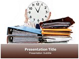 Time Management Skills powerpoint template
