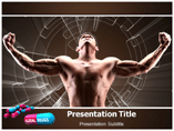 Body Builder Taking Steroiods Templates For Powerpoint
