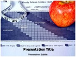 Body Mass Index Fitness Chart Templates For Powerpoint