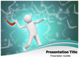 Animated Man Throwing Boomerang Templates For Powerpoint