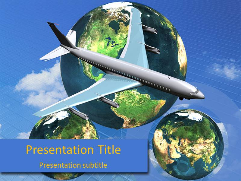 Southwest Airlines Templates For Powerpoint, Southwest Airlines PowerPoint Slide Templates