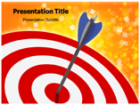 Locations of Target PowerPoint Background