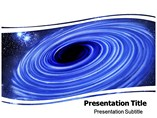 Black Hole  powerpoint template