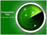 Radar  powerpoint template