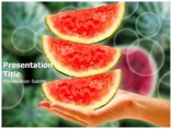 Watermelon Templates For Powerpoint