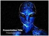 Alien powerpoint template