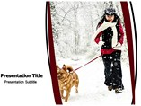 snowfall powerpoint template