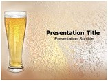 Beer Glass powerpoint template