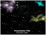 Space Galaxy powerpoint template