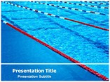 swimming Pools powerpoint template