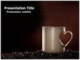 coffee and love powerpoint template