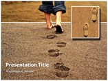 My Footprint Templates For Powerpoint