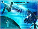 Weather Satellite  PowerPoint Template