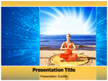 Beginning Yoga Video Templates For Powerpoint