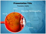 Macular retinopathy powerpoint template