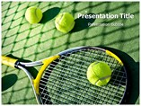 Tennis player Templates For Powerpoint