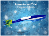 Tooth brush Templates For Powerpoint