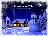 Snow And Ice Templates For Powerpoint